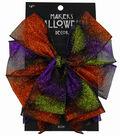 Maker\u0027s Halloween 2.5\u0027\u0027 Decorative Glitter Bow-Ombre