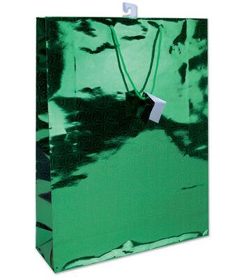 """Unique 18""""x13"""" Holographic gift Bag Set-6PK"""