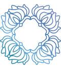 Ultimate Crafts Bohemian Bouquet 3.5\u0027\u0027x3.5\u0027\u0027 Hotfoil Stamp-Orchid Box