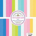 Doodlebug Design Hello Petite Print 12\u0027\u0027x12\u0027\u0027 Double-sided Cardstock