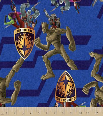 Marvel's Guardians of the Galaxy Print Fabric- Guardian Of War