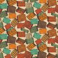 Premium Cotton Fabric-Vintage Steamer Trunks
