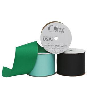 "Offray Grosgrain Ribbon 2.25"" x 9 Feet"
