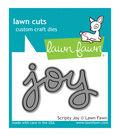 Lawn Fawn Lawn Cuts Custom Craft Die-Scripty Joy