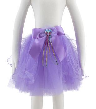 Maker's Halloween Children's Short Tutu Costume-Purple