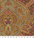 Home Decor 8\u0022x8\u0022 Fabric Swatch-Waverly Moonlit Shadows Spice