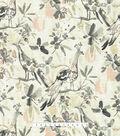 Kelly Ripa Home Upholstery Fabric 54\u0027\u0027-Oyster Flora Flaunt