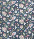 Home Decor 8\u0022x8\u0022 Fabric Swatch-Eaton Square Bearings Blueberry