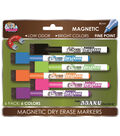 6 Pack Magnetic Pens With Eraser