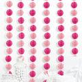 Cheer & Co. 6 pk 5.4\u0027 Party Backdrops-Light Pink
