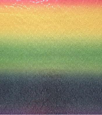 """Glitterbug Sequin Fabric 55""""-Unicorn Multicolor"""