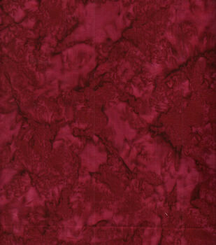 Batik Cotton Fabric-Tonal Burgundy