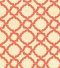 Waverly Upholstery Fabric-Kent Crossing Coral