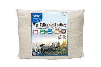 Pellon 50/50 Wool Blend Batting-King