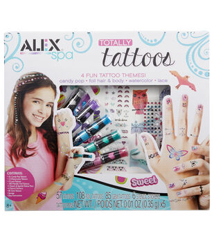 Alex Toys Spa Totally Tattoo Kit