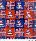 University of Arizona Wildcats Cotton Fabric -Block