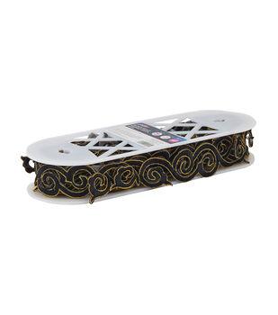 Yaya Han Collection Black/Gold Wuhan Swirl Trim