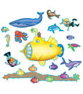 Teacher Created Resources Under the Sea Bulletin Board, 2 Sets