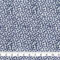 Keepsake Calico Cotton Fabric-Navy Smeared Dots