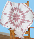 Stamped White Wall Or Lap Quilt 36\u0022X36\u0022-Diamond