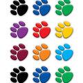 Colorful Paw Prints Mini Accents 36/pk, Set of 12 Packs