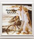 Plastic Bevel Wall Photo Frame 12\u0027\u0027x12\u0027\u0027-White