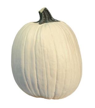 Fun-Kins Halloween 14'' Carvable Pumpkin-White