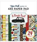 Echo Park Double-Sided Paper Pad 6\u0022X6\u0022 24/Pk-A Dog\u0027s Tail