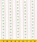 Keepsake Calico Cotton Fabric-Bed&Breakfast Stripe