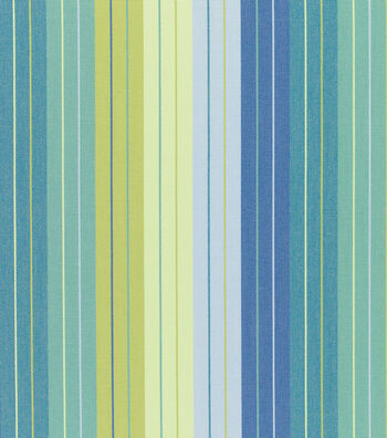 "Sunbrella Outdoor Stripe Fabric 54""-Seville Seaside"