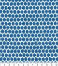 Home Decor 8\u0022x8\u0022 Fabric Swatch-Waverly Seeing Spots SD Bluebell