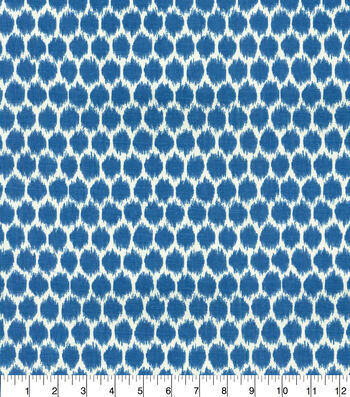 """Home Decor 8""""x8"""" Fabric Swatch-Waverly Seeing Spots SD Bluebell"""