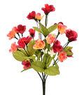 Fresh Picked Spring 15\u0027\u0027 Rose Bush-Red & Peach