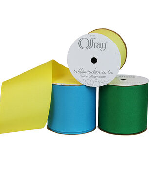 "Offray 3""x9' Grosgrain Solid Ribbon"