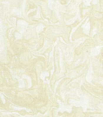 Wide Quilt Fabric 108''-Cream Oil Slick