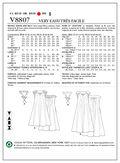 Mccall Pattern V8807 B5 (8-10-1-Vogue Pattern