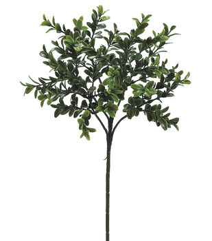 "Bloom Room 18"" Boxwood Spray-Green"