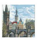 RIOLIS Counted Cross Stitch Kit 23.62\u0022X15.75\u0022-Charles Bridge Prague