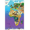 Dowling Magnets Wildlife Puzzle: Eurasia & Africa