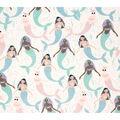Super Snuggle Flannel Fabric-Mermaid Teen