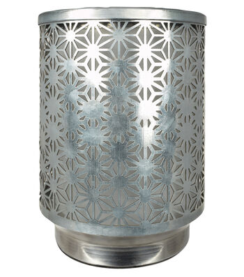 Hudson 43 Candle & Light Collection Warmer-Galvanized