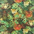 Anti-Pill Plush Fleece Fabric-Jungle Tigers
