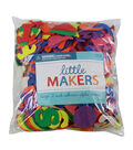 Little Makers Bulk Large Adhesive Alpha-Brights