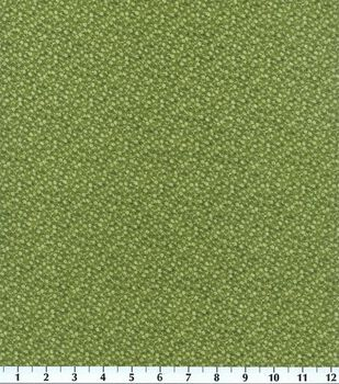 Keepsake Calico Cotton Fabric -Olive Illusions Floral