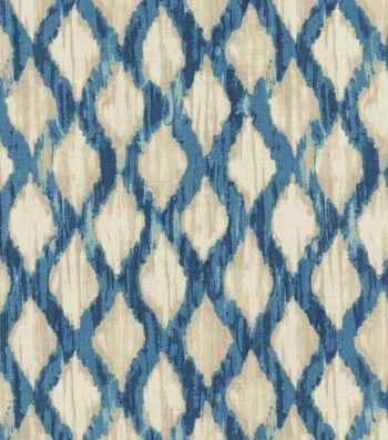 "Kelly Ripa Multi-Purpose Decor Fabric 54""-Floating Trellis Indigo"
