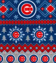 Chicago Cubs Fleece Fabric -Winter, , hi-res
