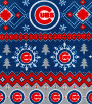 Chicago Cubs Fleece Fabric-Winter, , hi-res