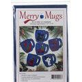 Rachel\u0027s of Greenfield Felt Merry Mugs Ornament Kit