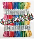 Design Works Zenbroidery Pack of 12 Skeins Floss-Variegated