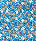 Novelty Cotton Fabric 43\u0027\u0027-Cookies & Milk
